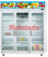 mesin display cooler maksindo